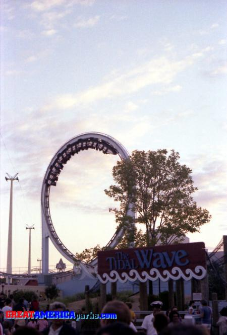 The Tidal Wave with Entrance Signs